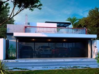 Nhà theo Esquiliano Arqs, Tối giản