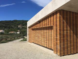 Maison ligne Hamerman Rouby Architectes Maisons méditerranéennes Bois