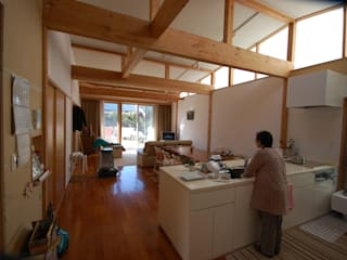田舎暮らしのための家 モダンな キッチン の 一級建築士事務所有限会社石原建設 モダン