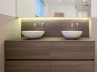 CLANRICARDE GARDENS II, NOTTING HILL Ardesia Design Kamar Mandi Modern Wood effect