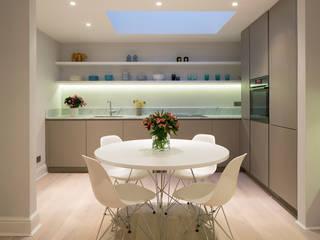 CLANRICARDE GARDENS II, NOTTING HILL Nhà bếp phong cách tối giản bởi Ardesia Design Tối giản