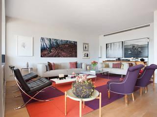Salones Salones de estilo moderno de Yanina Mazzei Fotografía Moderno