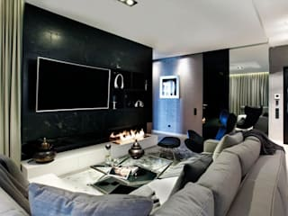 Modern living room by FLOW Franiak&Caturowa Modern