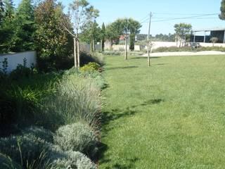 jardim privado: Jardins  por Raquel Frias - arquitectura paisagista,Minimalista