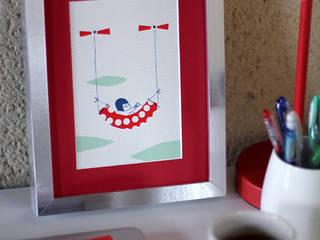 """""""Pilot Your Life"""" / sérigraphies / Screen Prints Joanna Wiejak Chambre d'enfantsAccessoires & décorations Papier Multicolore"""