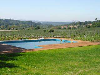 Quinta de Vilar: Jardins minimalistas por Raquel Frias - arquitectura paisagista