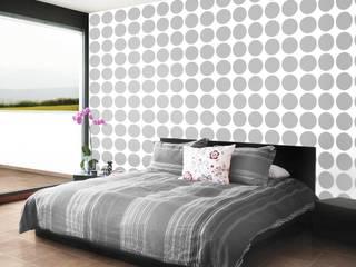Tapeta w grochy, groszki: styl , w kategorii Ściany zaprojektowany przez Dekoori