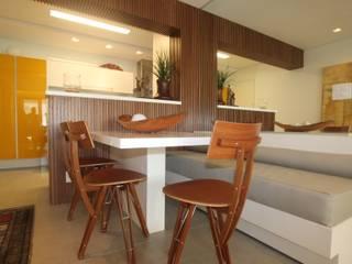 Ana Carolina Cardoso Arquitetura e Design Ruang Makan Modern
