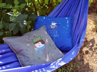 Sailor and Gardener on hammock:  de style  par Joanna Wiejak