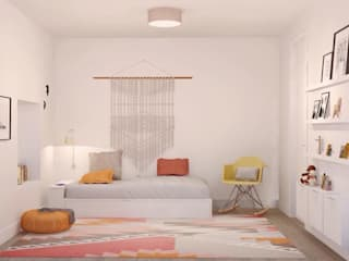 ห้องนอนเด็ก โดย Santiago   Interior Design Studio , ผสมผสาน