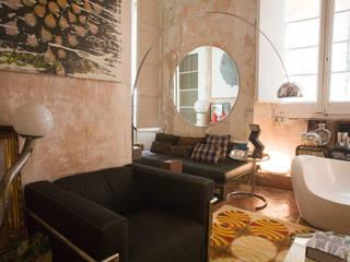 Casa de Fran Gómez Salones de estilo ecléctico de Las Coleccionistas Ecléctico