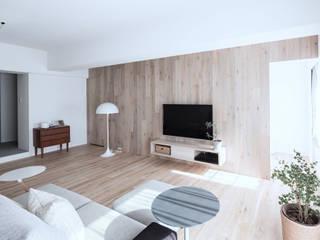 Renovation 104 北欧デザインの リビング の 一色玲児 建築設計事務所 / ISSHIKI REIJI ARCHITECTS 北欧