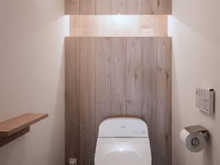 Renovation 104: 一色玲児 建築設計事務所 / ISSHIKI REIJI ARCHITECTSが手掛けた浴室です。,