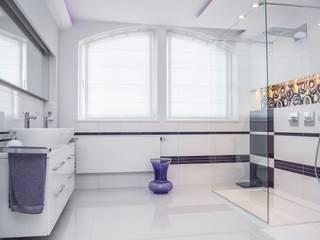 HOLADOM Ewa Korolczuk Studio Architektury i Wnętrz Minimalist style bathroom