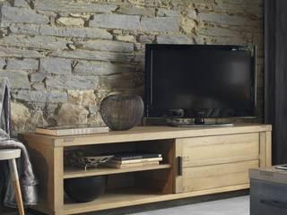 Meubles TV en chêne massif:  de style  par Shopping Meubles
