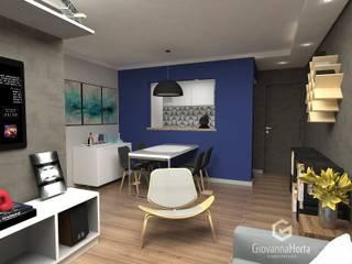 Salones de estilo moderno de Estúdio G | Arquitetura Moderno