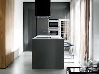 Minimalist kitchen by StudioCR34 Minimalist