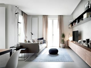Living room by StudioCR34, Minimalist