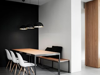 Dining room by StudioCR34, Minimalist