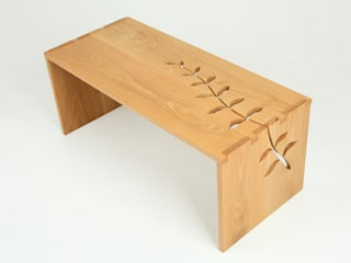 Leaf Wrap Coffee Table in Oak:   by Hannah Dowding Furniture