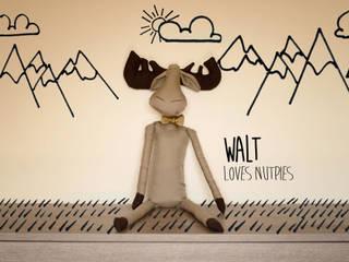 Walt, ama le torte di nocciole - Walt, loves nutpies:  in stile  di Ta Petite