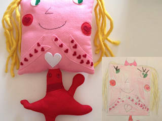 Pupazzo personalizzato per Asia - Custom plush for Asia:  in stile  di Ta Petite
