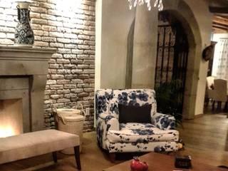 Livings de estilo mediterráneo de InteriorEs Silvana McColgan Mediterráneo