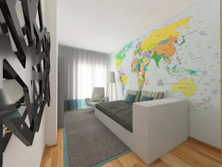 modern Nursery/kid's room by Spacemakers