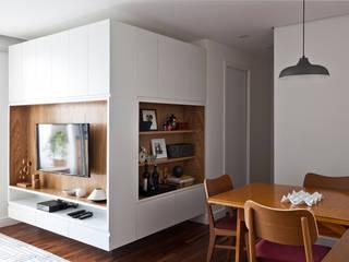 客廳 by INÁ Arquitetura, 北歐風