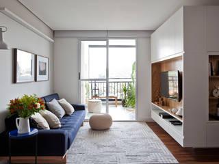 Sala: Salas de estar  por INÁ Arquitetura,Escandinavo