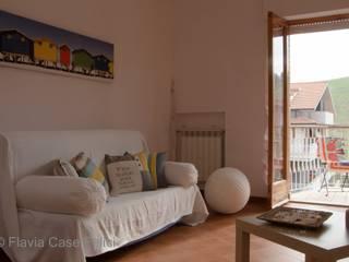 Flavia Case Felici Ruang Keluarga Gaya Mediteran