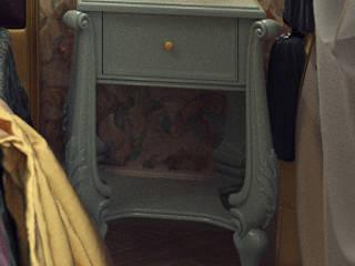 Прикроватная тумбочка: Спальни в . Автор – Студия Архитектуры и Дизайна Алисы Бароновой