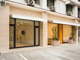 株式会社深田建築デザイン研究所 Scandinavian style commercial spaces