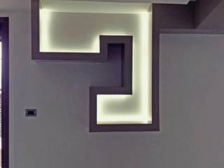 S.Q.UARE_House Soggiorno moderno di arkfattoriale Moderno