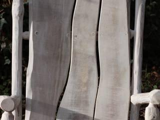 Fauteuil blanc par O Création Bois Scandinave