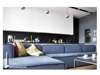 Salon moderne par GÓRSKI CHMIELEWSKA ARCHITEKCI Moderne