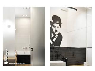 WNĘTRZE WARSZAWA Nowoczesna łazienka od GÓRSKI CHMIELEWSKA ARCHITEKCI Nowoczesny