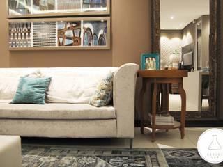 EDW Design de Interiores | LightDesign Livings de estilo moderno
