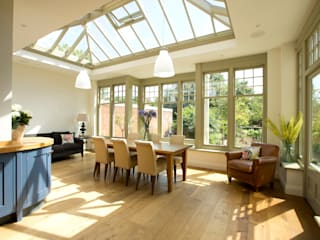 Spacious Orangery in Cambridge Modern conservatory by Westbury Garden Rooms Modern