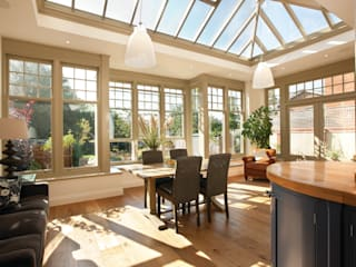 Internal view:  Conservatory by Westbury Garden Rooms