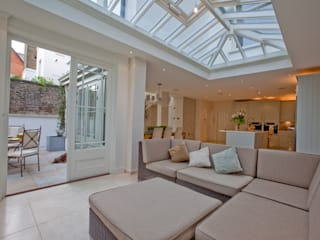 Basement renovation. Orangery Minimalist conservatory by Westbury Garden Rooms Minimalist