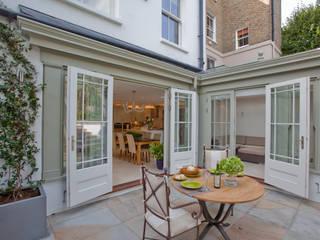 Basement renovation. Orangery Westbury Garden Rooms Modern conservatory Wood