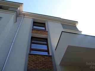 HOLADOM Ewa Korolczuk Studio Architektury i Wnętrz Modern houses