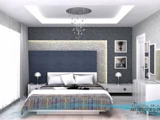 3d görsel hazırlama Modern Yatak Odası EN+SA MİMARİ TASARIM DEKORASYON MOB.İNŞ.SAN. VE TİC .LTD. ŞTİ Modern Ahşap Ahşap rengi