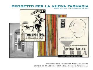 Interior design - Farmacia -:  in stile  di studio d-quadro