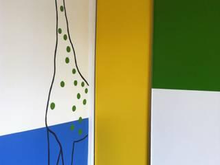 Fresque pour chambre d'enfant par Bepop et Lula - Géraldine Blé Éclectique