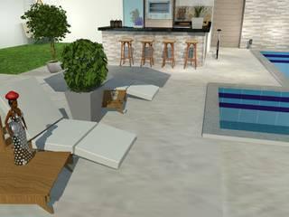 Piscinas de estilo ecléctico de Loja Architetto Ecléctico
