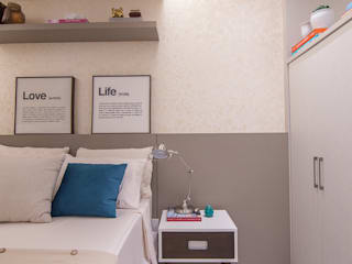 Chambre de style de style Moderne par Duplex Interiores