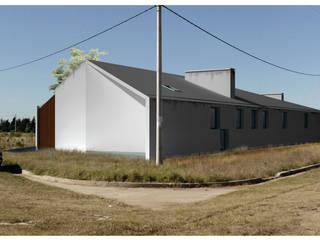 Casa Rosetta: Casas de estilo  por Diego Jobell Arquitectos