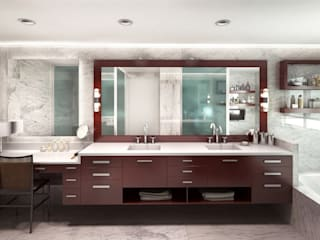 Bathroom by KorteSa arquitectura, Eclectic Marble